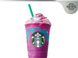 Starbucks Unicorn Frappuccino Drink