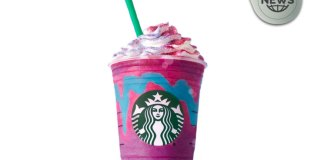 Starbucks Unicorn Frappuccino Drink