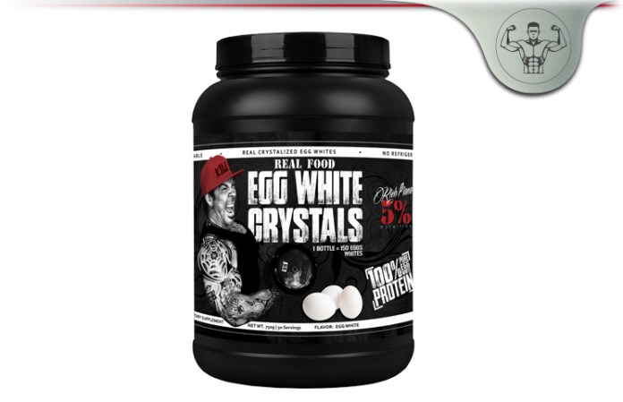 Rich Piana Nutrition Real Food Egg White Crystals