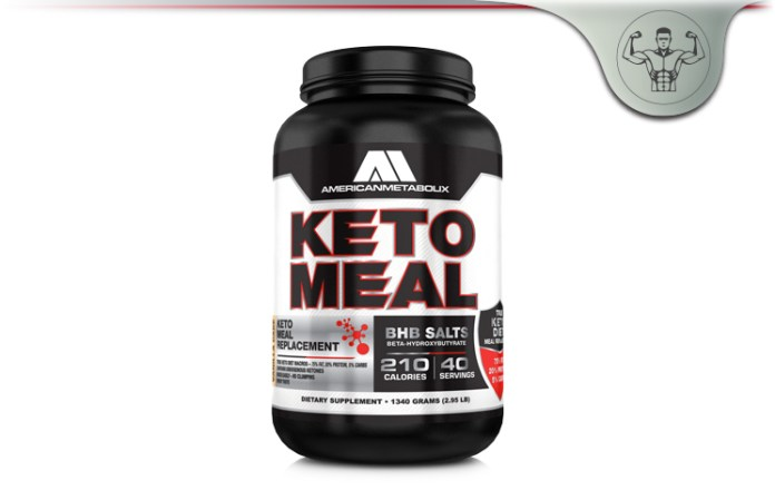 American Metabolix Keto Meal Review - Ketogenic Diet Meal Replacement?