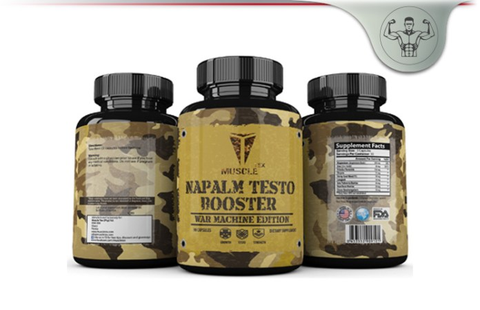 Muscle Tex Napalm Testo Booster
