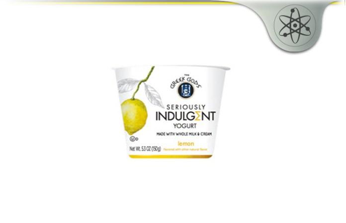 seriously indulgent lemon yogurt