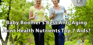 Baby Boomer's Best Anti-Aging Joint Health Nutrients