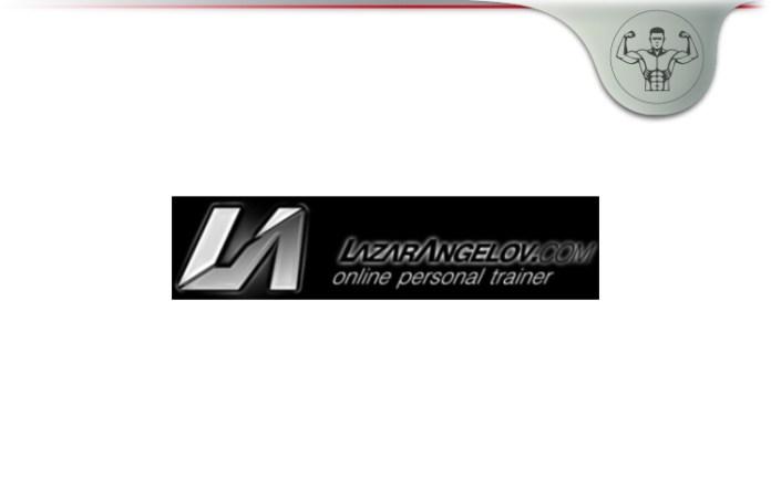 Lazar Angelov Online Personal Trainer
