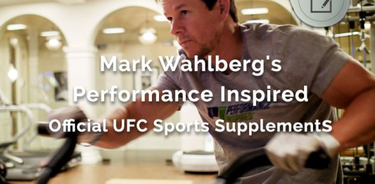 Mark Wahlberg Performance Inspired Official UFC Sports Supplements
