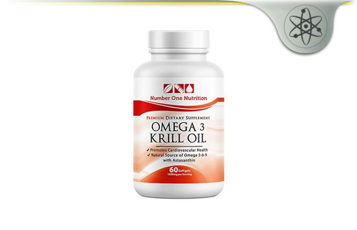 Number One Nutrition Krill Oil