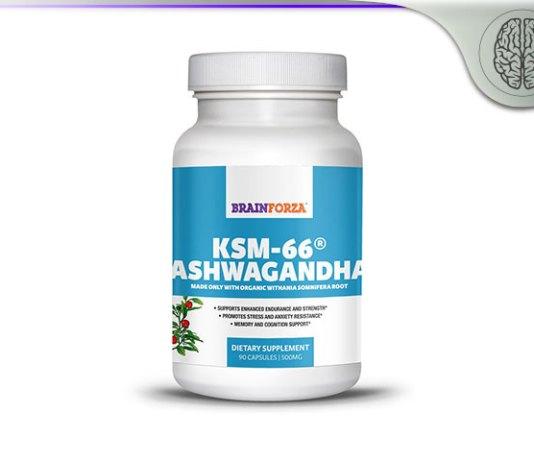 Brain Forza Organic KSM-66 Ashwagandha Root