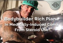 Bodybuilder Rich Piana In Medically-Induced Coma From Steroid Use