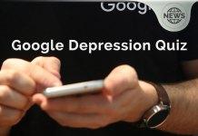Google Depression Quiz