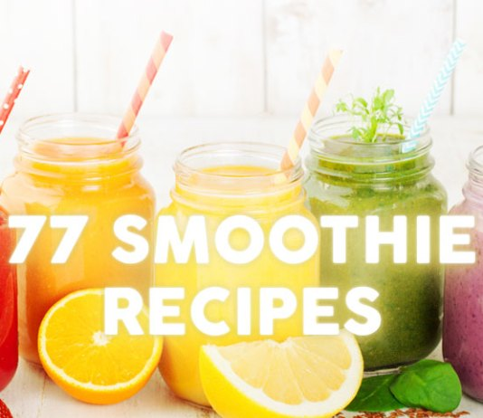 77 smoothie recipes