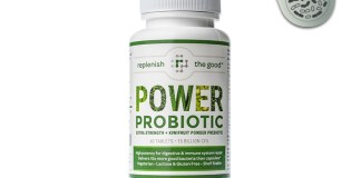 Power Probiotic Replenish The Good