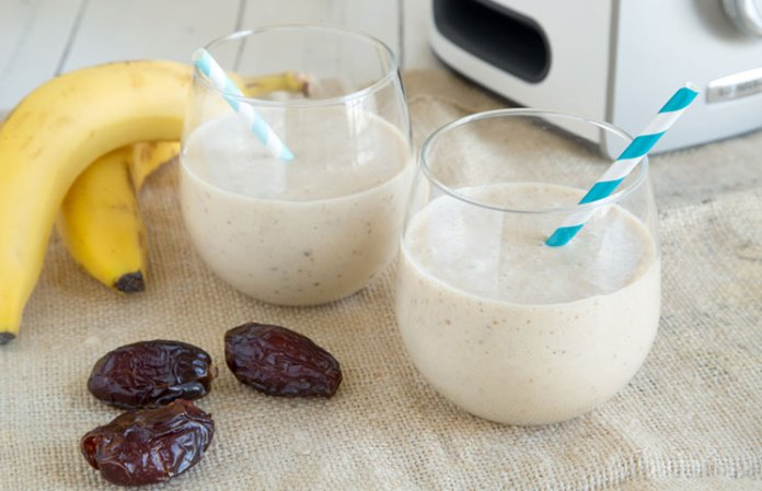 banana dates smoothie