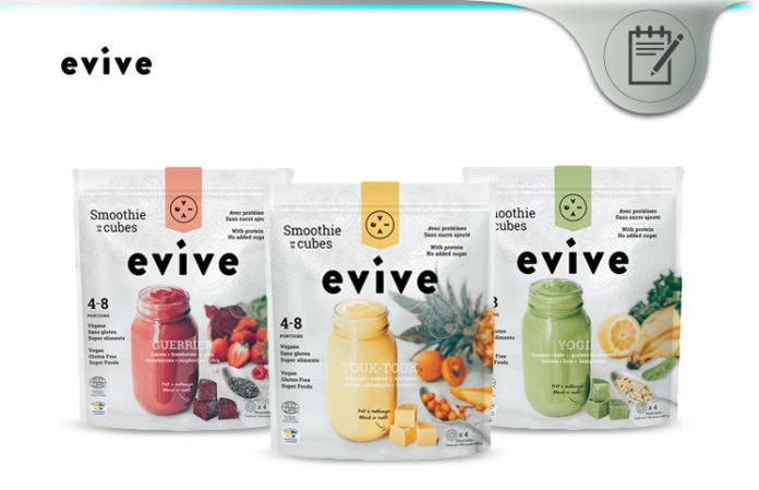 Evive Smoothie Review 3 Step Fruit Veggie Superfood