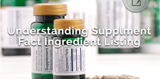 understanding supplement fact ingredient listing