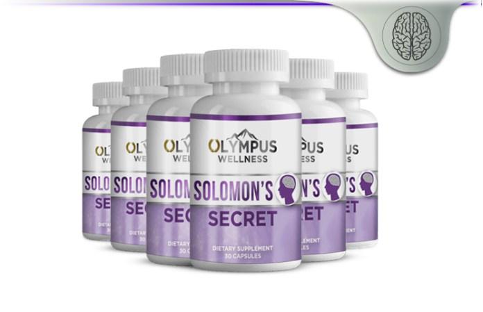 Olympus Wellness Solomon's Secret Biblical Brain