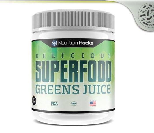 Nutrition Hacks Superfood Greens Juice
