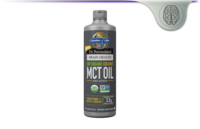Dr Formulated 100% Organic Coconut MCT Oil