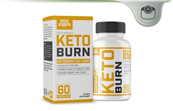 Sheer Strength Keto Burn