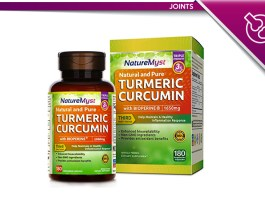 NatureMyst Turmeric Curcumin