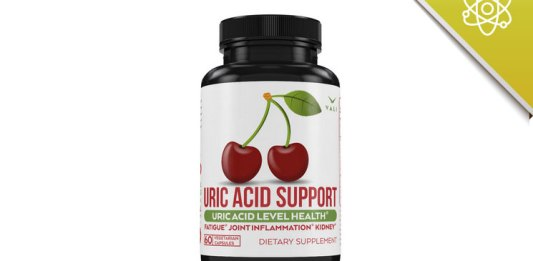 uric acid support with chanca piedra tart cherry