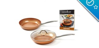 Copper Chef Diamond Pan
