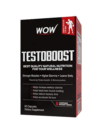 WOW Testoboost 550mg Review