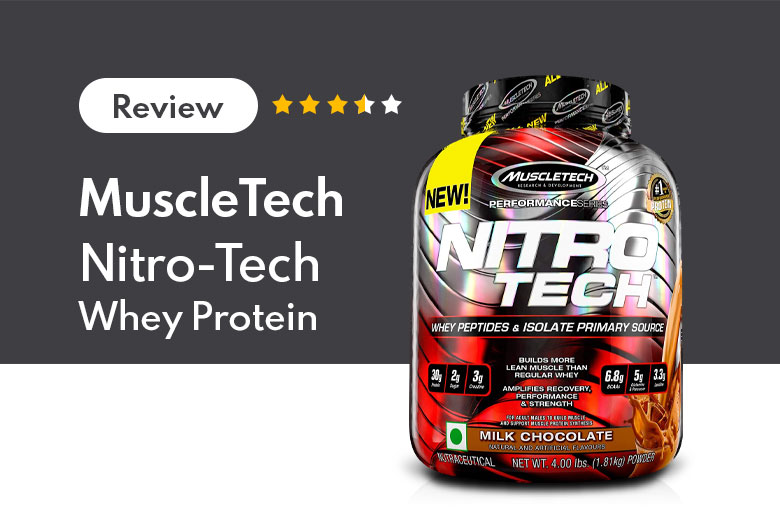 Read more about the article Exclusive MuscleTech Nitro-Tech Whey Protein Review for Athletes