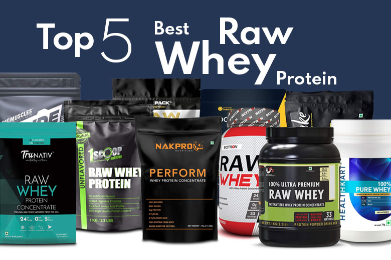 Top 5 Best Raw Whey Protein Under ₹1000 in India 2021