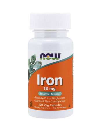 Now Foods Iron Supplement