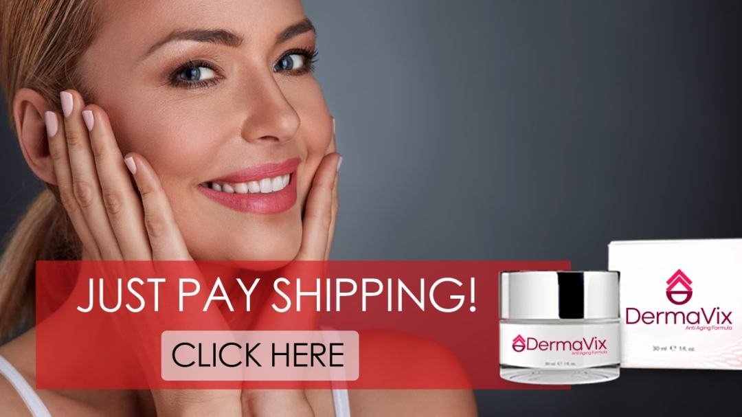 Buy Dermavix call to action. Bottle and Box on Pink Claim Your Bottle Now CTA