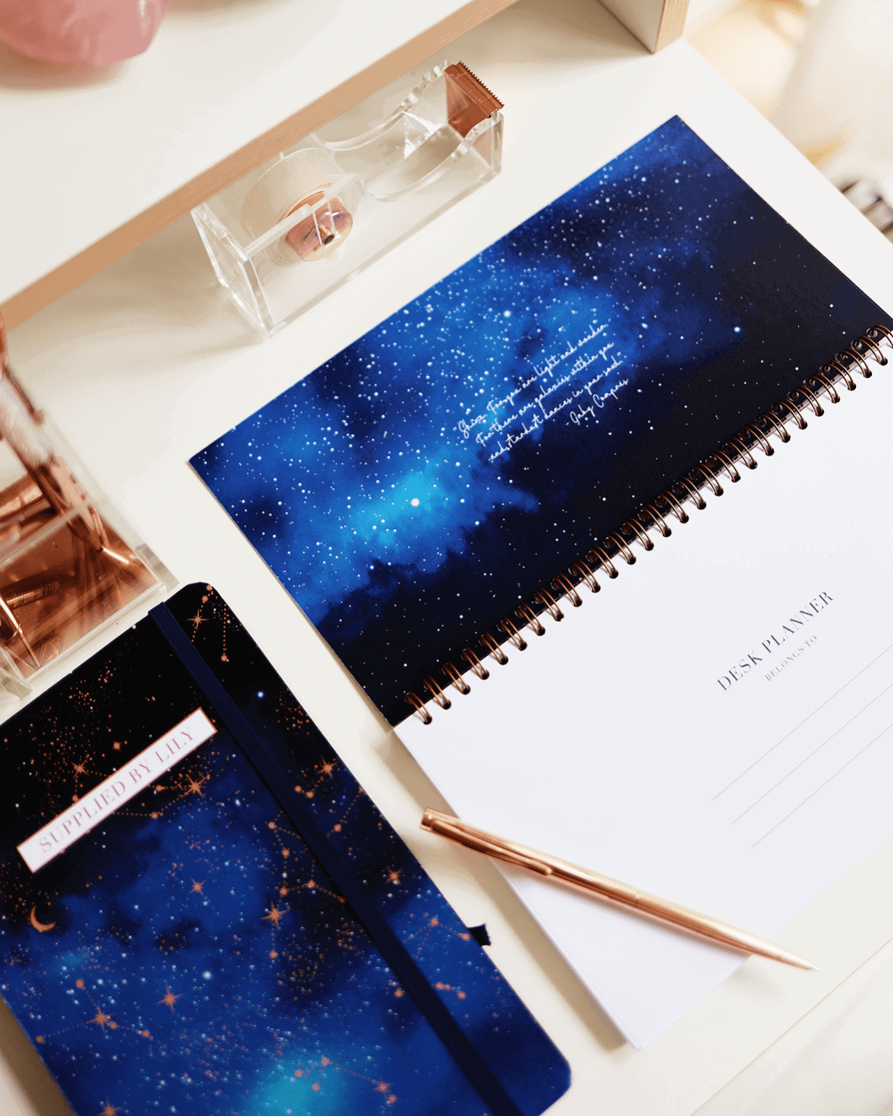 Supplied by Lily Desk Planner in Luxurious Astrology