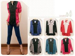 Two Tone Lining • @54 • crepe • fit to L