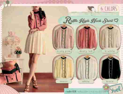 818 bahan ceruty+furing fit to L - ecer @57b