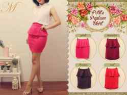 MR 334 - ecer@57 - seri4w 204rb - bhn wedges pinggang karet - FREE BELT