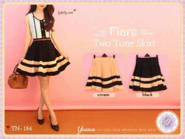 YN 184 - ecer@61 - seri4pcs 220rb - twistcone+belt