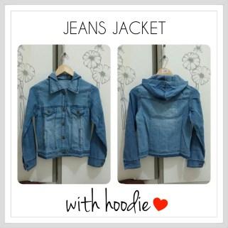 Hoodie Jean Jackets - ecer@78rb - seri6pcs 438 - jeans