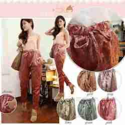 Shiny Batik Pants - TANPA WARNA GREY - ecer@62rb - seri5w 280rb -kain songket - fit to L