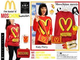 Moschino Sweater - ecer@57rb - seri3pcs 156rb - bahan Babyterri - fit to XL 1sr