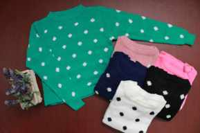 Polka Sweater - ecer@51 - seri6w 270rb - bahan rajut lokal - fit to L
