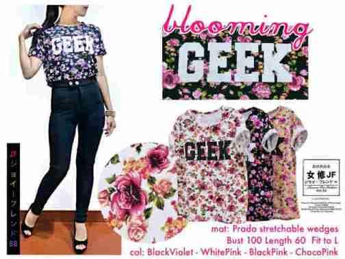 Blooming GEEK - ecer@45rb - seri4w 160rb - bhn impor prada wedges tebal stretch - Fit to XL