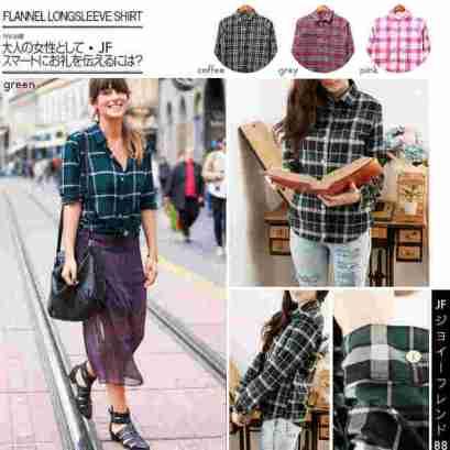 Flannel Long Sleeve - ecer@76 - seri4w 280rb - bahan flanel import tebal - fit to L