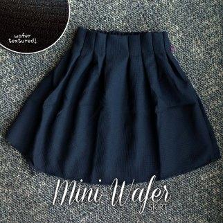 IMPORT! Mini Wafer Skirt Black - ecer@66rb - seri4pcs(2wrn) 240rb - katun tebal bertekstur - fit to L