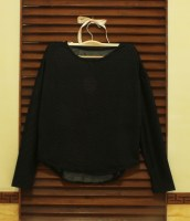Black Glittery Top - ecer@56rb - seri4pcs 200rb - semi rajut - fit to L