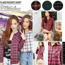 IMPORT! Plaid Pocket Shirt - ecer@77 - seri4w 288rb - bhn flanel asli (tebal+bulu) - fit to L