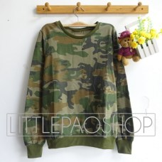 Army Sweatshirt - ecer@68rb - seri4pcs 256rb - babyterry - fit to L
