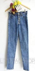 [IMPORT] Buttons Up HW Jegging - ecer@110rb - seri3ukuran 315rb - jeans tebal stretch - ukuran 27,28,29