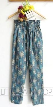 Kintamani Comfy Pants (green) - ecer@68rb - seri4w 252rb - katun stretch tebal - fit to ukuran 30