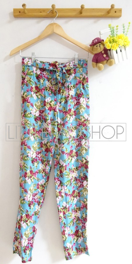 Flowy Comfy Pants (tosca) - ecer@65rb - seri4w 240rb - katun rayon - fit to L