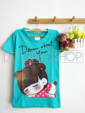 Girl Dream About You (Tosca) - ecer @40rb - seri3w 105rb - kaos - fit to L