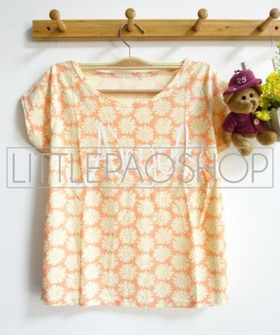 [IMPORT] Angel Top (orange) - ecer@55rb - katun tebal - fit to L
